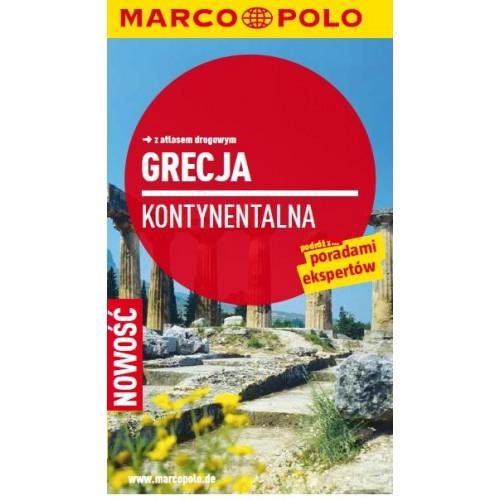 Marco Polo Grecja Kontynentalna Przewodnik z atlasem drogowym
