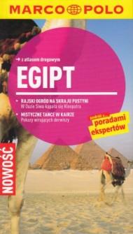 Marco Polo Egipt Przewodnik z atlasem drogowym