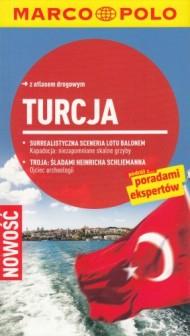 Marco Polo Turcja Przewodnik z atlasem drogowym
