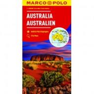 Marco Polo Mapa Australia 1: 4 000 000