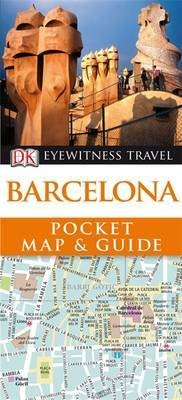 Barcelona DK Eyewitness Pocket Map and Guide
