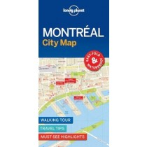Lonely Planet Montreal City Map - Montreal Mapa