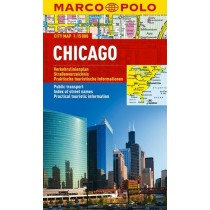 Marco Polo Mapa Chicago - skala 1:15 000