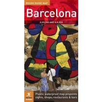 Mapa: Rough Guide Barcelona Map